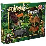 Reig - Caja 8 animales selva, multicolor (728241)