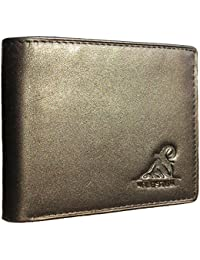 Mt. Eston RFID Blocking Trifold Bifold Mens Leather Wallet, 18 Pocket Extra Capacity, High-End Build, Gift Box For Men