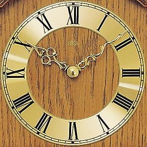 Reloj De Péndulo AMS 211/4–Reloj de pared con péndulo Carcasa roble de AMS