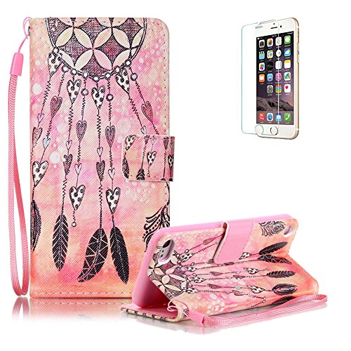 custodia-ipod-touch-6-touch-5-in-pellefunyye-amore-acchiappasogni-disegni-elegante-libro-portafoglio