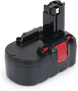 Shentec 18V 3.5Ah Ni-MH Batteria per Bosch BAT025 BAT026 BAT160 BAT180 2607335277 2607335535 2607335536 2607335266 2607335735 PSR 18 VE-2 GSR 18 VE-2 PSB 18 VE-2 e Caricatore
