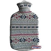 1x Sänger 2 Liter Gummi-Wärmflasche, inkl. Strickbezug, abnehmbaren Bezug, Fjord preisvergleich bei billige-tabletten.eu