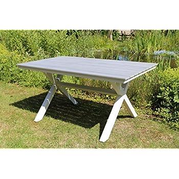 Amazon De Destiny Esstisch Bellview 150x90 Cm Tisch Gartentisch