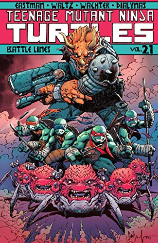 Teenage Mutant Ninja Turtles Vol. 21: Battle Lines (English ...