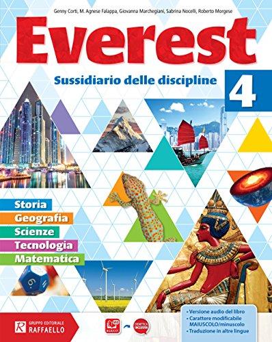 Everest. Per la Scuola elementare. Con e-book. Con espansione online: 4