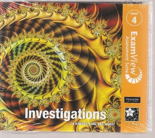 Investigations 2008 Examview CD-ROM English/Spanish Grade 4