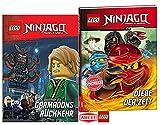 LEGO® NinjagoTM - Garmadons Rückkehr Lesebuch + Diebe der Zeit , Kinderbuch für Leseanfänger Gebundene Ausgaben