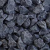 zierkiesundsplitt Basalt Ziersplitt 1000kg Big Bag 2-5mm, 5-8mm, 8-11mm, 8-16mm, 16-32mm (16-32mm)