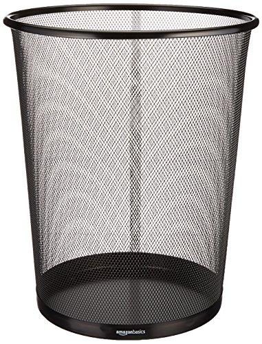 AmazonBasics Papierkorb, Drahtgeflecht, 17l