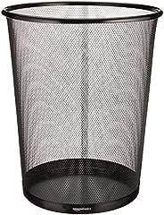 AmazonBasics Mesh Dustbin - 17 L - Black