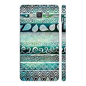 Enthopia Designer Hardshell Case Natural Beauty Back Cover for Samsung Galaxy E5