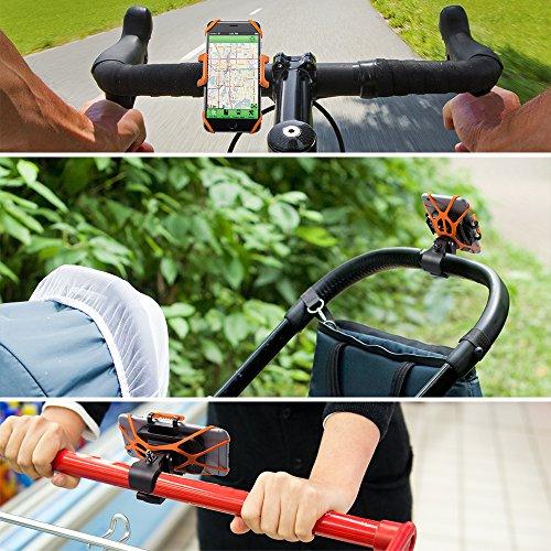 TaoTronics iPhone 6S/6S Plus 6/6Plus 5S/4S Samsung Galaxy S5/S4/S3 Handyhalterung Fahrrad - 6