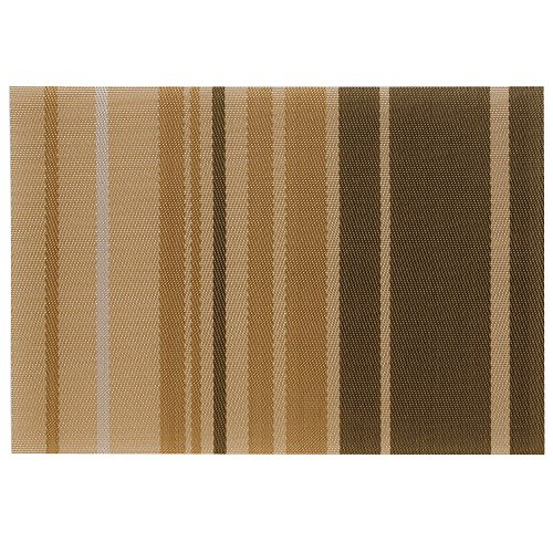 Kela 15631 Neta Set de table PVC/Polyester Beige 45 x 30 x 1 cm