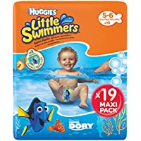 Huggies Little Swimmers Pannolini, Taglia 5-6 (12-18 kg), 1 Pacco da 19 Pezzi