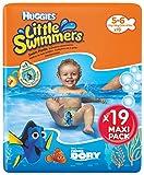Huggies Little Swimmers Schwimmwindeln Gr.5/6 (12-18 kg), 1 Packung mit 19 Stück