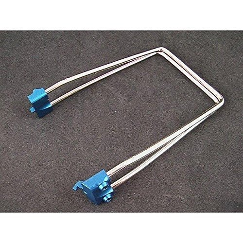 Hot Racing RVO111206 Blue Double Spring Steel Wire Roll Bar by Hot Racing (Wire Spring Steel)