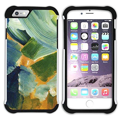 Graphic4You Flasche Farbe Farben Kunst Gemälde Malerei Hart + Weiche Kratzfeste Hülle Case Schale Tasche Schutzhülle für Apple iPhone 6 Plus / 6S Plus Design #19