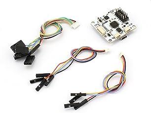 Regolatore di volo autopulente Professional CC3D Openpilot 32 bit perfetto per Multirotor Mini QAV250 bianco