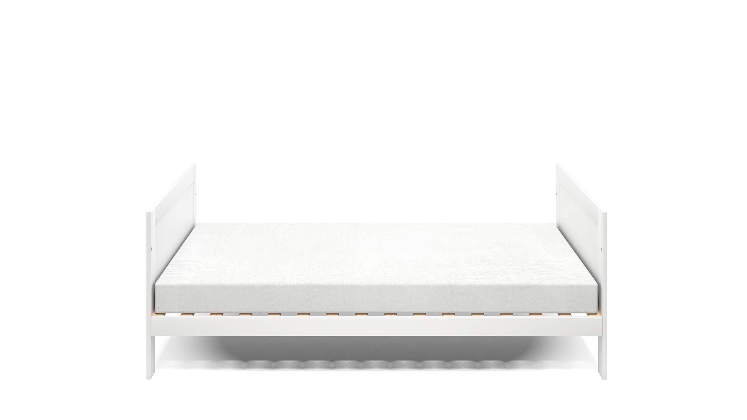 Silver Cross Derwent Cot Bed, Mattress and Dresser bundle