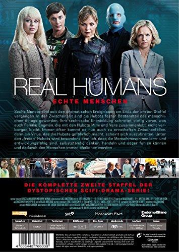Real Humans - Echte Menschen, Die komplette zweite Staffel [4 DVDs]: Alle Infos bei Amazon