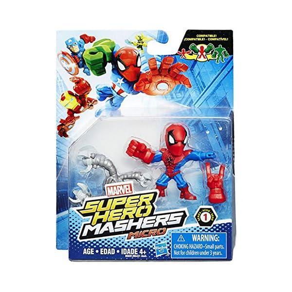 Marvel – Super Hero Mashers Micro – Spider-Man – Figura Personalizable 5 cm 3
