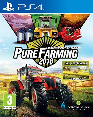Pure Farming 2018 - Landwirtschaft weltweit - D1 Edition [PEGI-AT] [Playstation 4]