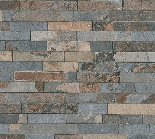 A.S. Création 355823 Vliestapete Best Of Wood`n Stone 2nd Edition Tapete In  Stein Optik Fotorealistische Steintapete Naturstein 10,05 M X 0,53 M Made  In ...