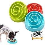 BLACK DOG Slow Feeder Dog Bowl for Anti Choke Small Dogs & Puppies Food Slow Feeding Bowl Slow Feeder Dog Bowl Cat Slow…