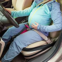 BIGWING Style-Cinturón Embarazada para Asiento de automóvil a Cojín Ajustable