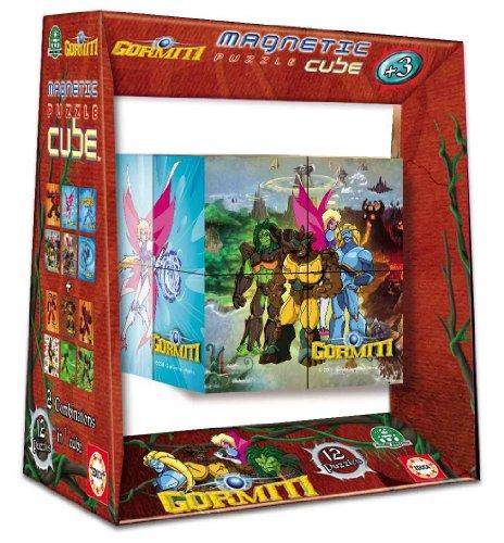 Imagen 1 de Educa Borrás 14386 - Magnetic Puzzle Cube 8 Gormiti