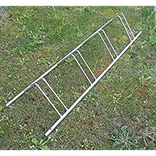 INOXLM Parking Rack Carrier Stainless Steel 4Seater