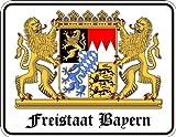 Rahmenlos® Fun Schild - Freistaat Bayern