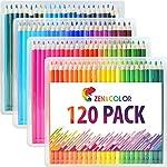 120 Lápices de Colores (Numera...