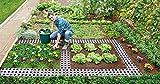 Original Organics Easy Fit Maxi – Kunststoff-Gartenweg-Platten, rutschfester Gartenweg