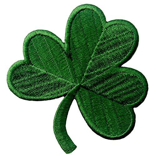 Trébol Irlandés Verde Oscuro Lucky Shamrock Emblema