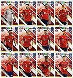 PANINI ADRENALYN XL FIFA 365 2019 – alle zwölf (12) Bayern Munchen (Munich) Teamkollegen Basiskarten
