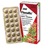 Floradix Iron Supplement Tablets - Paquet de 84 Comprimés