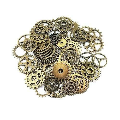 sseell-80-x-pieces-vintage-bronze-montre-steampunk-engrenages-cyberpunk-pignons-diy-bijoux-craft
