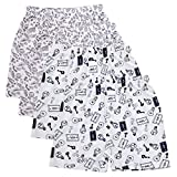 TSX Men's Cotton Boxer Pack of 4