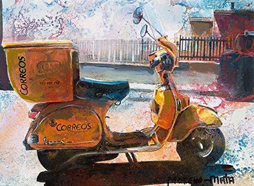 vespa-de-correos-pintura-original-hecha-a-mano
