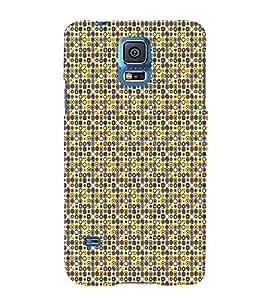 Print Masti Designer Back Case Cover for Samsung Galaxy S5 :: Samsung Galaxy S5 G900I :: Samsung Galaxy S5 G900A G900F G900I G900M G900T G900W8 G900K (abstract round vector Round ethnic )