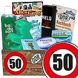 50. Geburtstag | DDR Pflegebox | mit Florena Creme, Badusan und mehr | Pflege Set DDR