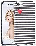 Imikoko iPhone 6 6S Hülle, iPhone 6 6S Rundumschutz Handy Hülle Schutzhülle Weich Silikon TPU Case Super Sweet Cute für Girl