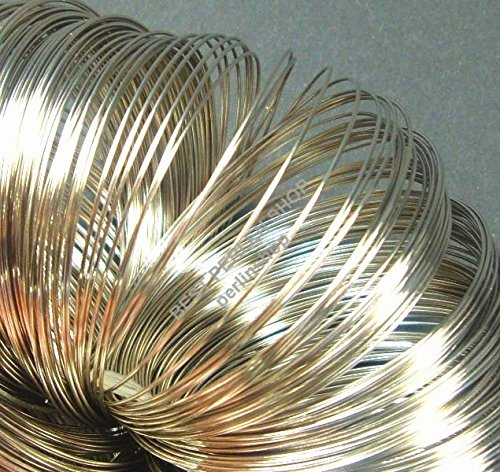 Armbänder Schmuckteile 100 Ringe Stahl MEMORY WIRE Spiraldraht 6cm SILBER M290D