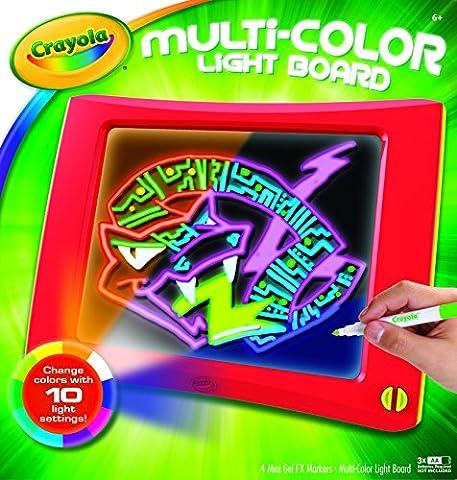 Crayola Multi-Color Light Board 10.375