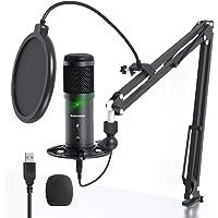 USB Podcast Mikrofon, SUDOTACK Professional ST900 Streaming Mikrofon 192KHz /24Bit Studio Nieren Kondensator Mikrofon…