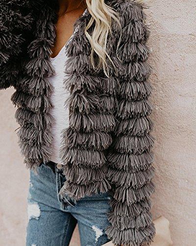 Gemijacka - Manteau sans manche - Femme Gris