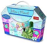 Trefl 7834 Eiskönigin Frozen Glitzer-Puzzle 100 Teile