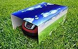 Garage für Mähroboter - Rasenroboter - individuell bedruckt (Standard: Innenmaße B 600 x H 315 x T 794 mm)