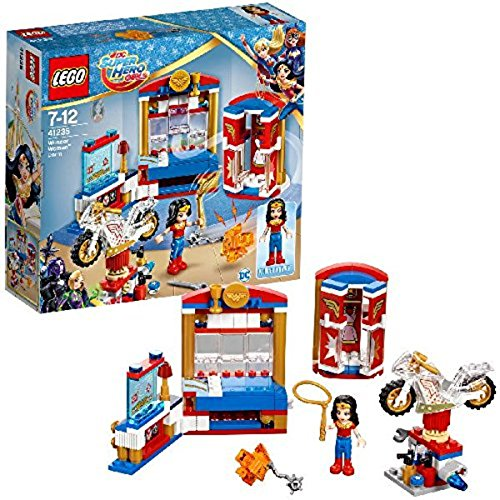 LEGO Super Héroes - Dormitorio Wonder Woman 41235